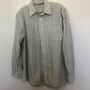 Sonoma Long Sleeved Checked Shirt Size Medium